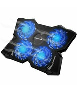 """USB COOLER COOLING PAD 4 FANS FOR 9"""" to 16"""" Gaming Acer Dell HP Alienwar... - $50.39"""