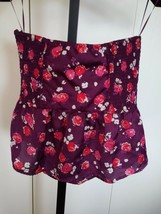 American Eagle Outfitters Ladies Bustier TOP-JR M-BARELY WORN-100% Polyester - $6.95