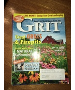 Grit Magazine July/Aug 2007-Great Grills and Fire Pits, Cattle, Campfire... - $4.00