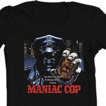 Maniac Cop t-shirt retro horror movie 100% cotton 80's film tee Bruce Campbell image 1