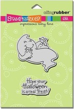 Stampendous Spooky Treat Rubber Cling Stamp Set #CRS2042 - $7.99