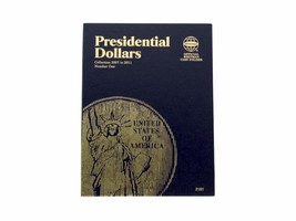 Whitman Coin Folder/Album, Presidential Dollar Volume 1, 2007-2011  - $5.99