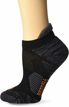 Merrell Women's 1 Pack Cushioned Ultra Light Running Tab Low Cut Socks - $18.06