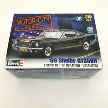 Revell 66 Shelby Mustang GT 350H 1:24 Scale Model Car Kit 2482 Hot Rod C... - $18.81