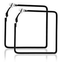 Aifeer No Piercing Big Square Clip On Earring Women Fashion Ear Cuffs Bl... - $7.95