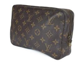 LOUIS VUITTON TROUSSE TOILETTE 23 Monogram Canvas Cosmetic Pouch Bag LP2612 - $169.00