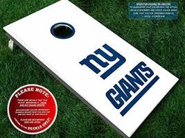 Giants Cornhole Decals | COLOR CHOICE | Three (3) Vinyl Decals for DIY B... - $15.00