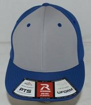 Richardson Pulse R Flexfit Small Medium PTS 20 Uform Visor Grey Royal Blue image 2