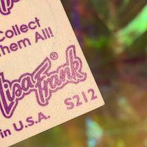 Lisa Frank Complete Sticker Sheet S212 Rainbow Kissing Fish Circle Style image 3