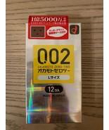 Okamoto 002 0.02EX Zero-Two Excellent Size Large L 12 Pcs (US Seller) - $18.66