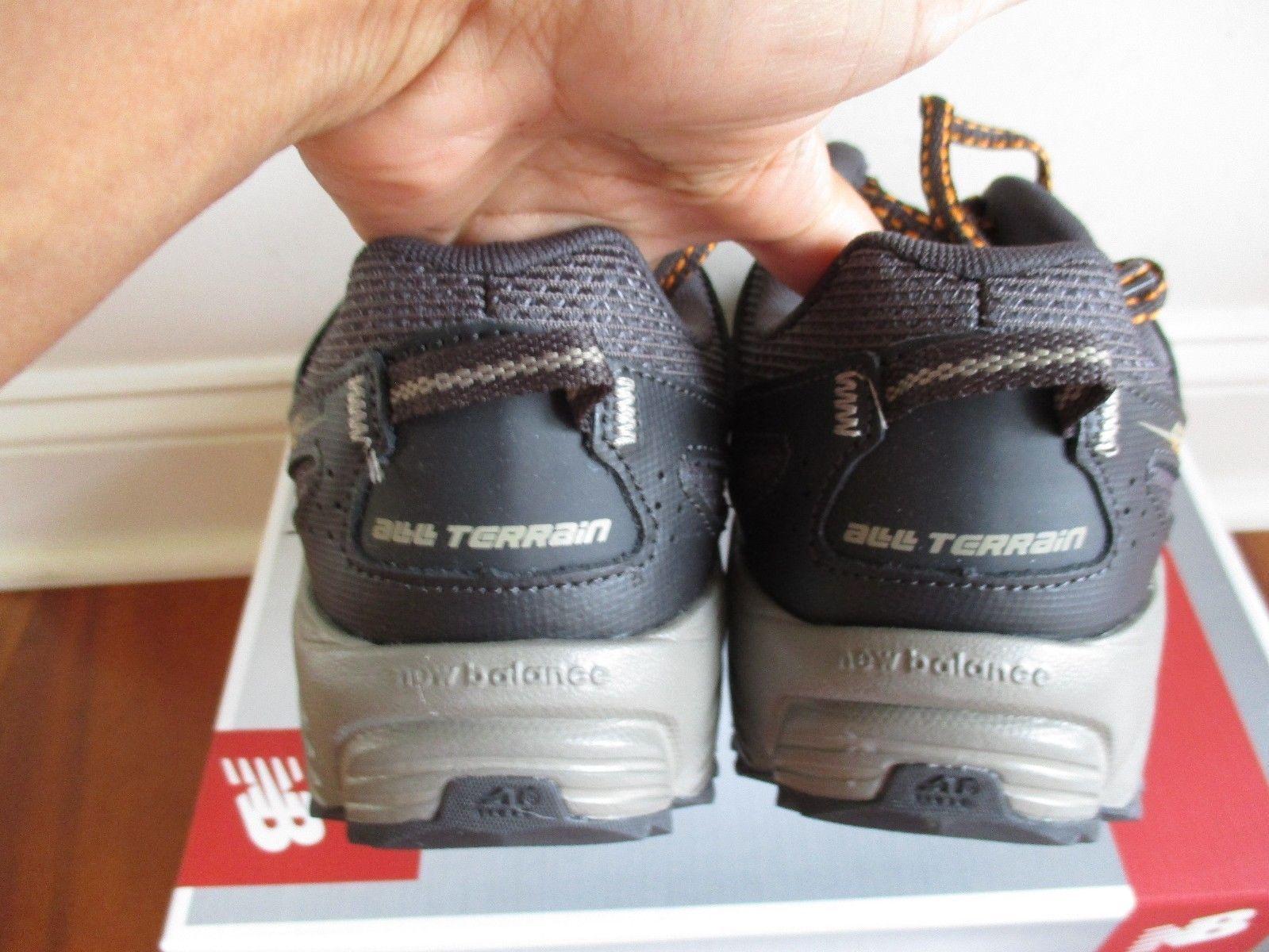 BNIB New Balance MTE412G2 Trail Running Shoes, Men, size 8 4E(XWide), Grey