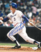 Dale Murphy signed Atlanta Braves 8x10 Photo NL MVP 82, 83 (white jersey... - $39.95