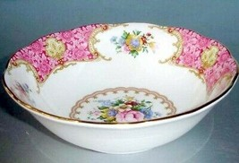 """Royal Albert Lady Carlyle Cereal Oatmeal Bowl Floral Bone China 6.25""""W New - $41.90"""