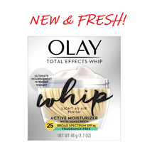 Olay Total Effects Whip Fragrance Active Moisturizer With Sunscreen 1.7 Oz - $15.15