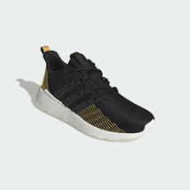 Adidas Men's Black /Gold Essentials Questar Flow Running Shoes - $96.92