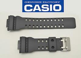 Genuine Casio 22 mm Watch Band Rubber Strap Greyish Black G-Shock GA-110C-1A  - $31.45