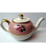 Arthur Wood Pink Roses Teapot England 8629 - $44.50