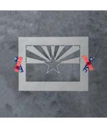 Arizona State Flag Stencil - Durable & Reusable Mylar Stencils - $5.99+