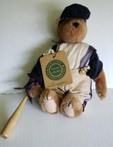 Boyds Bears Slugger Plush Bear w/ baseball Bat The Archive Collection  - $11.88