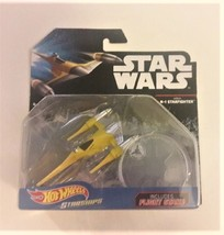Star Wars Hot Wheels Starships Naboo N-1 Starfighter - $18.99