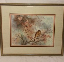 ORIGINAL WATER COLOR PRINT SIGNED/NUMBERED CECILIA LIN (SPRING DEBUT II)... - $302.44