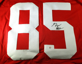 GEORGE KITTLE / SAN FRANCISCO 49ERS / AUTOGRAPHED 49ERS RED CUSTOM JERSEY / COA image 3