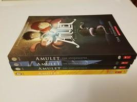 Lot of 4 Amulet Graphic Novel Books Dazu Kibuishi 1,2, 4,8 VGUC - $19.95