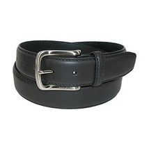 Tommy Hilfiger Men's Casual Belt, Black logo, 34
