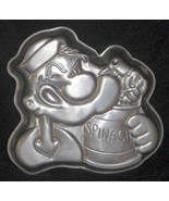 Wilton Cake Pan POPEYE & Spinach Can 502-1719 1980 - $14.00