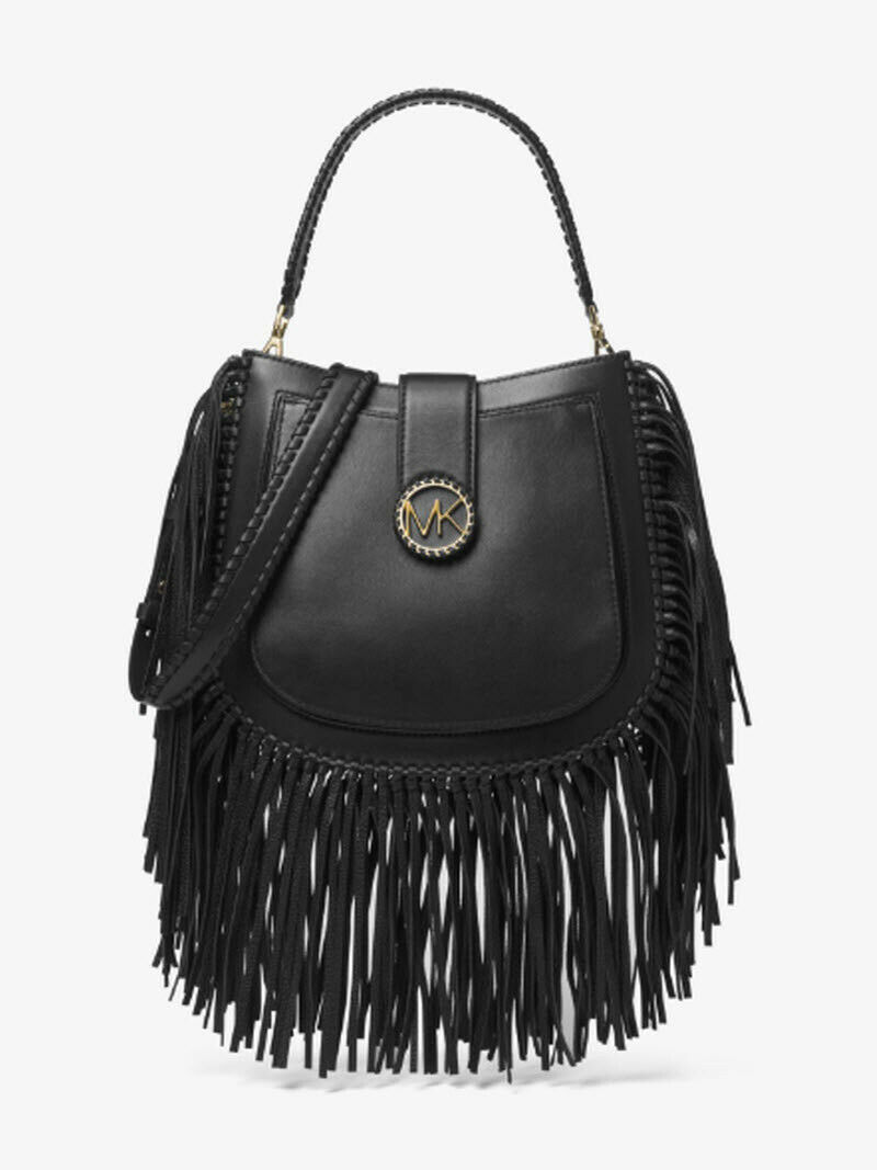 87c6948755f7 Michael Kors Lillie Medium Fringed shoulder and 50 similar items. 57