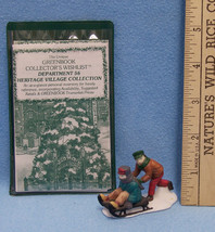 Department 56 Heritage Village 1995 Greenbooks Collectors Wishlist & MV ... - $9.89