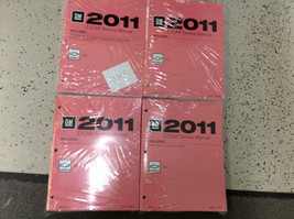 2011 CHEVY MALIBU MALIBU & HYBRID Service Shop Repair Manual Set OEM 201... - $316.75
