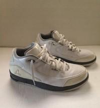 Mens White/Gray Retro NIKE AIR JORDAN Shoes size 10.5 428825-102 - $48.51