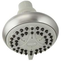 Waterpik EcoFlow Brushed Nickel 3 Setting Showerhead VBE-429 - $11.88