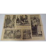 ORIGINAL Vintage 1967 NY Sunday News Cannes Film Festival Foldout Claudi... - $18.49