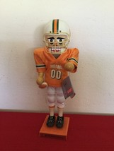 2001 Sterling & Camille Miami University Canes Football Player Nutcracke... - $30.00