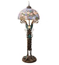 "73""H Tiffany Magnolia Nouveau Floral Floor Lamp.601 - $15,498.00"