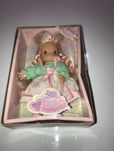 Precious Moments Doll CHRISTY Friendship Garden Rare HTF in Box Estate find - $18.69