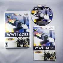 WWII Aces (Nintendo Wii, 2008) WW2 Planes - Complete with Manual - Free ... - $9.45