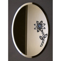 Oval Mirror Decoration image 3