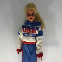 Vintage Mattel 1966 Barbie Doll Made in Japan in USA Red White & Blue Sweater - $1,979.99