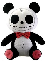 Furrybones Panda Bear Pandie Wearing Red Bow Tie Plush Doll - $23.26