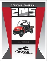 2015 Arctic Cat Prowler HDX UTV Service Repair Workshop Manual CD - $12.00