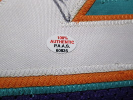 JOHN STOCKTON / NBA HALL OF FAME / AUTOGRAPHED UTAH JAZZ CUSTOM JERSEY / COA  image 5