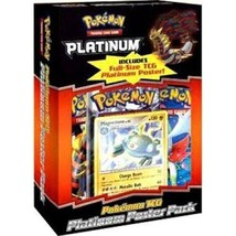 Pokemon Platinum Poster Pack Magnezone Promo Card & Booster Packs Sealed TCG - $37.95