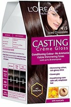 L'Oreal Paris Casting Creme Gloss, Iced Chocolate 415, 87.5g+72ml  FREE SHIP - $19.70