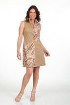 Stylish Golf/Casual Animal Print Golf Dress with Shortie - GoldenWear image 2