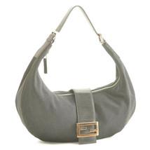 FENDI Nylon Shoulder Bag Black Auth ar2080 **Sticky - $160.00