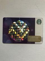 Starbucks Gift Card - New - Disco Ball 2016 - $1.19