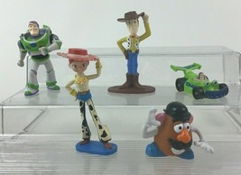 """Toy Story 5pc Lot Small 2"""" Figure Topper Buzz Woody RC Jessie Toys Disne... - $15.10"""